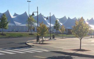 large tent exterior