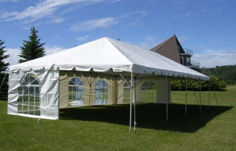 Small Frame Tents (6' to 30' Wide) 12