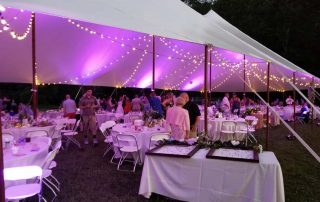 Best decorations for a tent event 1