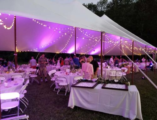Best decorations for a tent event